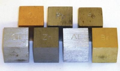 Density Cubes For Aluminium