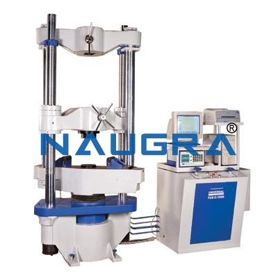 Universal Testing Machine for Teaching Equipments Lab