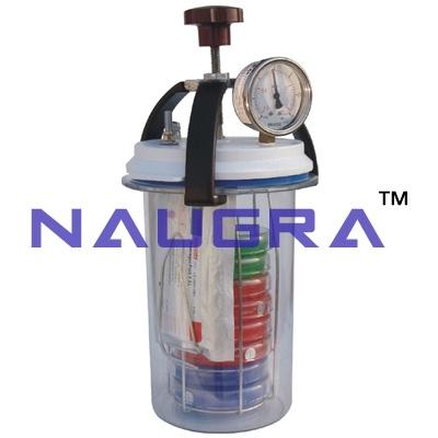 Anaerobic Culture Jar for School Science Lab