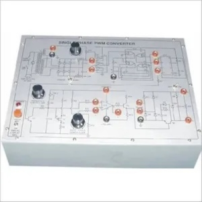 SCR Triggering Circuit Using IC TCA-785 Trainer for Power Electronics Training Labs for Vocational Training and Didactic Labs