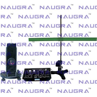 Ballistic Galvanometer Setup for Physics Electric Labs