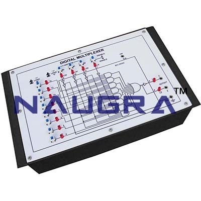 2 Channel Analog Multiplexer Trainer for Vocational Training and Didactic Labs