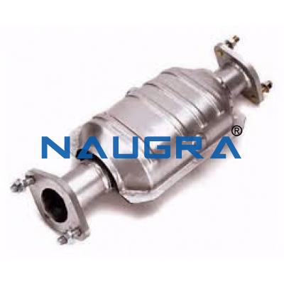 Catalytic convertor (Cut model)