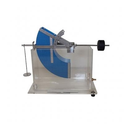 HYDROSTATIC PRESSURE, Tilting Submerged Quadrant