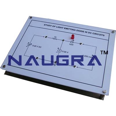 Light Emitting Diode Trainer for Vocational Training and Didactic Labs