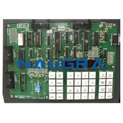 01-8085-Microprocessor Trainer for Microprocessor Teaching Labs