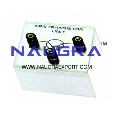 Semiconductor - N-P-N Transistor Unit for Physics Lab