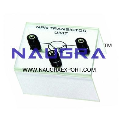 Semiconductor - N-P-N Transistor Unit for Physics Lab