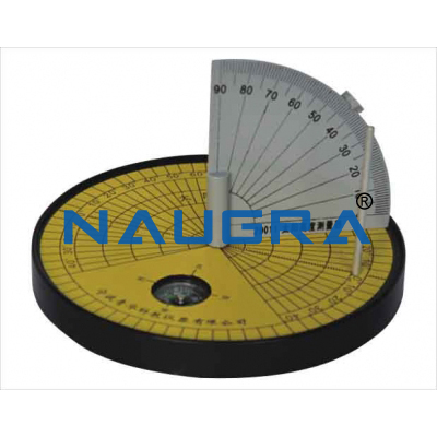 Sun height measurment device for Earth Science Lab