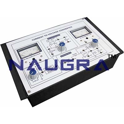 Current to Voltage Converter Trainer for Vocational Training and Didactic Labs