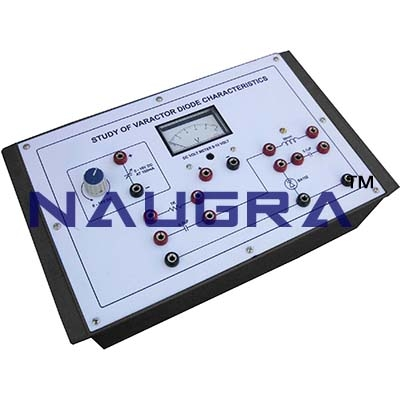 Study of Varactor Diode Characteristics Trainer for Vocational Training and Didactic Labs