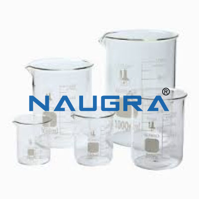 Glass Beakers for Science Lab
