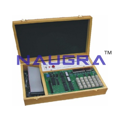 8086 Microprocessor Educational Lab Trainer for Vocational Training and Didactic Labs