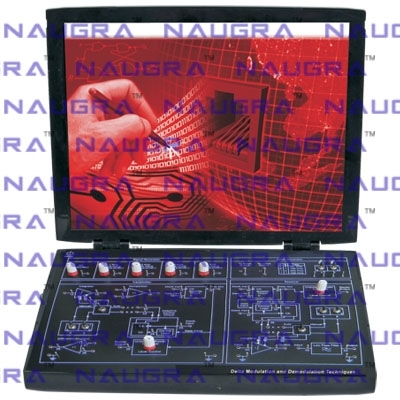 Delta, Adaptive Delta and Delta Sigma Modulation/ Demodulation Trainer for Communication Teaching Labs
