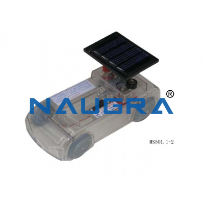 Solar Energy Car for Earth Science Lab