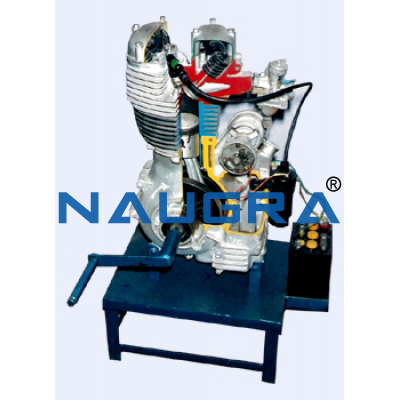 Automobile Engineering Equipments for Teaching Equipments Lab