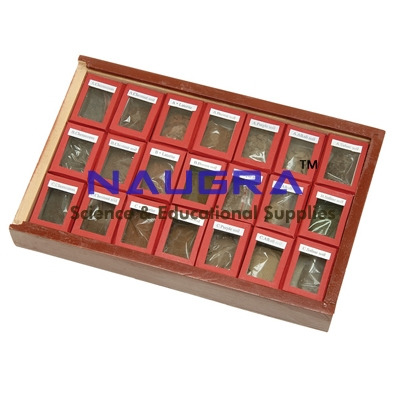 SET OF ASSORTED SOIL SET OF 21 for Earth Science Lab