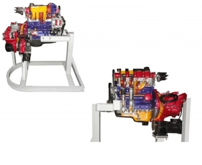Sectioned Petrol Engine Trainer, 4 Cylinder, EFIfor engineering schools