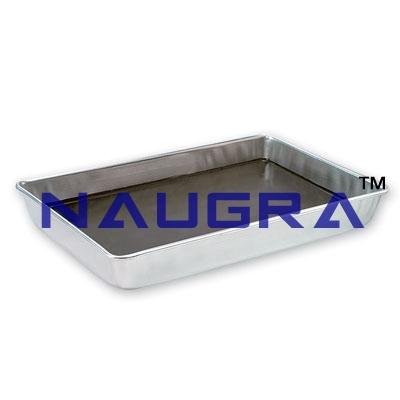 Aluminium Trays for School Science Lab
