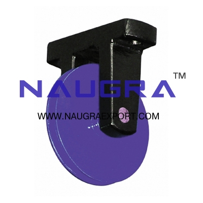 Pulley Mounted Board (U Bracket) for Physics Lab