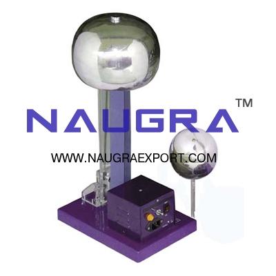 Van De Graff Generators Motor Driven for Physics Lab