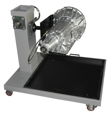 Transmission on Rotating Stand, Automatic Trainerfor engineering schools