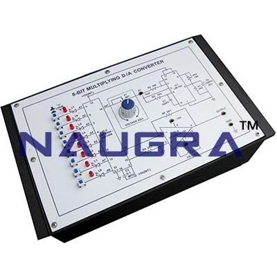 Digital to Analogue Converter Trainer for Vocational Training and Didactic Labs