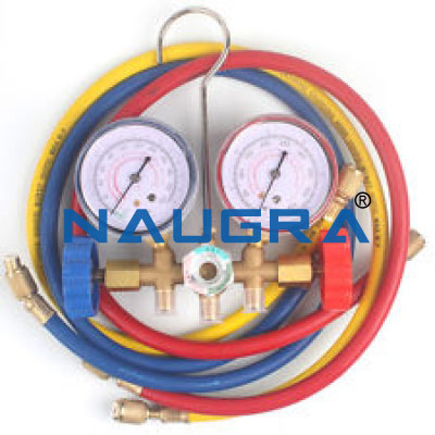 Air conditioner gas gauge