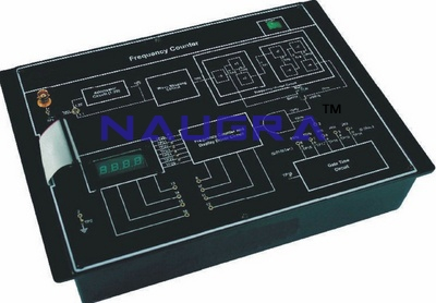 Frequency Counter Trainer & Lab Training Kit for Vocational Training and Didactic Labs