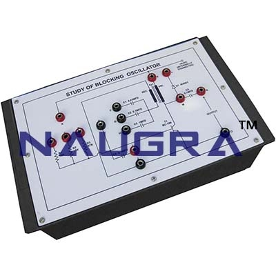 Blocking Oscillator Trainer for Vocational Training and Didactic Labs