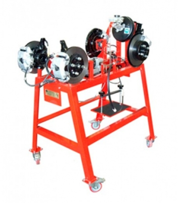 Sectioned Duplex Type Brake Unit Trainerfor engineering schools