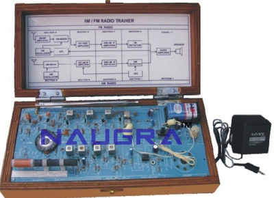 AM & FM Radio Trainer & Trainer Kit for Vocational Training and Didactic Labs