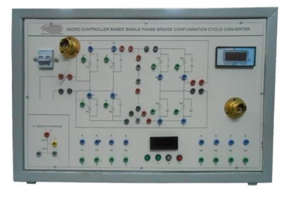 Single Phase Transistorised Bridge Inverter for Power Electronics Training Labs for Vocational Training and Didactic Labs