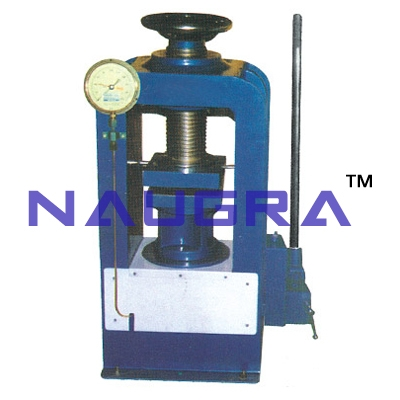 Compression Testing Machine (Channel Type Load Frame) Hand Operated For Testing Lab for Concrete Testing Lab