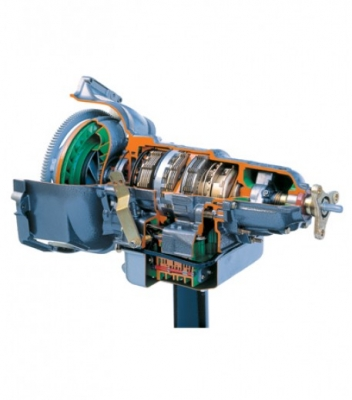 Sectioned Rear Wheel Drive Automatic Transmission with 3 Forward Speed and 1 Reversefor engineering schools