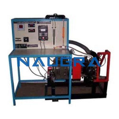 Single Cylinder Four Stroke Petrol Engine Test Setup