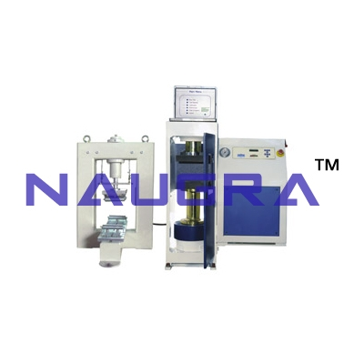 Micro Controller Based Automatic Compression Testing Machine For Testing Lab for Concrete Testing Lab