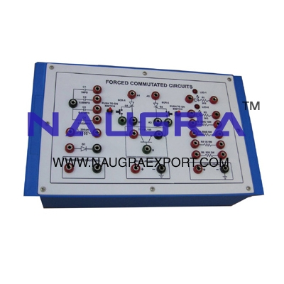 Forced Commutated Circuits for Vocational Training and Didactic Labs