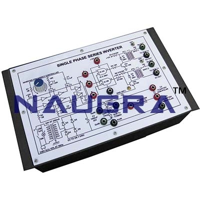 Single Phase Series Inverter Trainer for Vocational Training and Didactic Labs