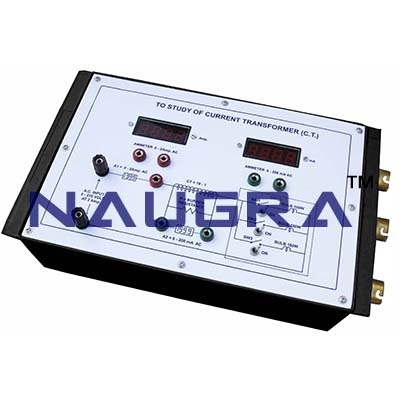 Current Transformer Trainer for Vocational Training and Didactic Labs
