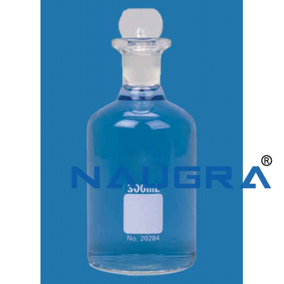 BOD bottle with Interchangeable Stopper for Science Lab