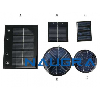 Solar Cell Panel for Earth Science Lab
