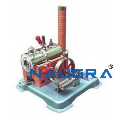 Model of Drop Valve Steam Engine - Heat Transfer Training Systems and Heat Lab Engine Trainers for engineering schools