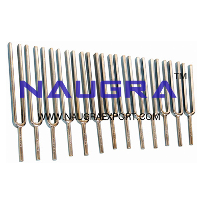 Tuning Forks Set of 13 for Physics Lab