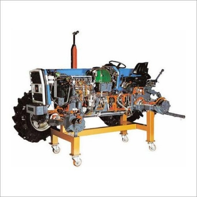 Tractor Actual Cut Section (Motorised)
