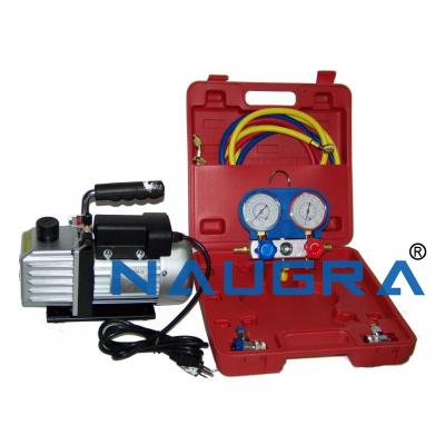 Vacuum pump for car air conditioner
