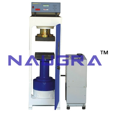 Micro Controller Based Compression Testing Machine For Testing Lab for Concrete Testing Lab