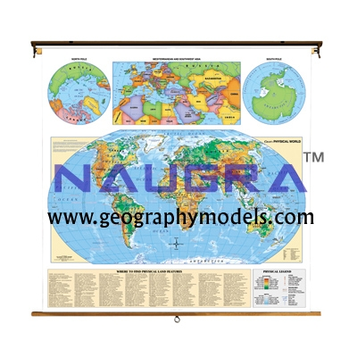 Maps Manufacturers for Teaching Equipments Lab