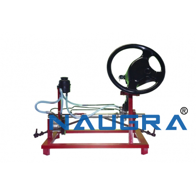 Actual Working Model of Power Steering Automobile Engineering Model and Training System for engineering schools