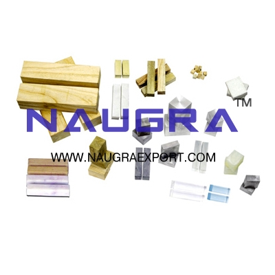 Materials Kit Solids for Physics Lab